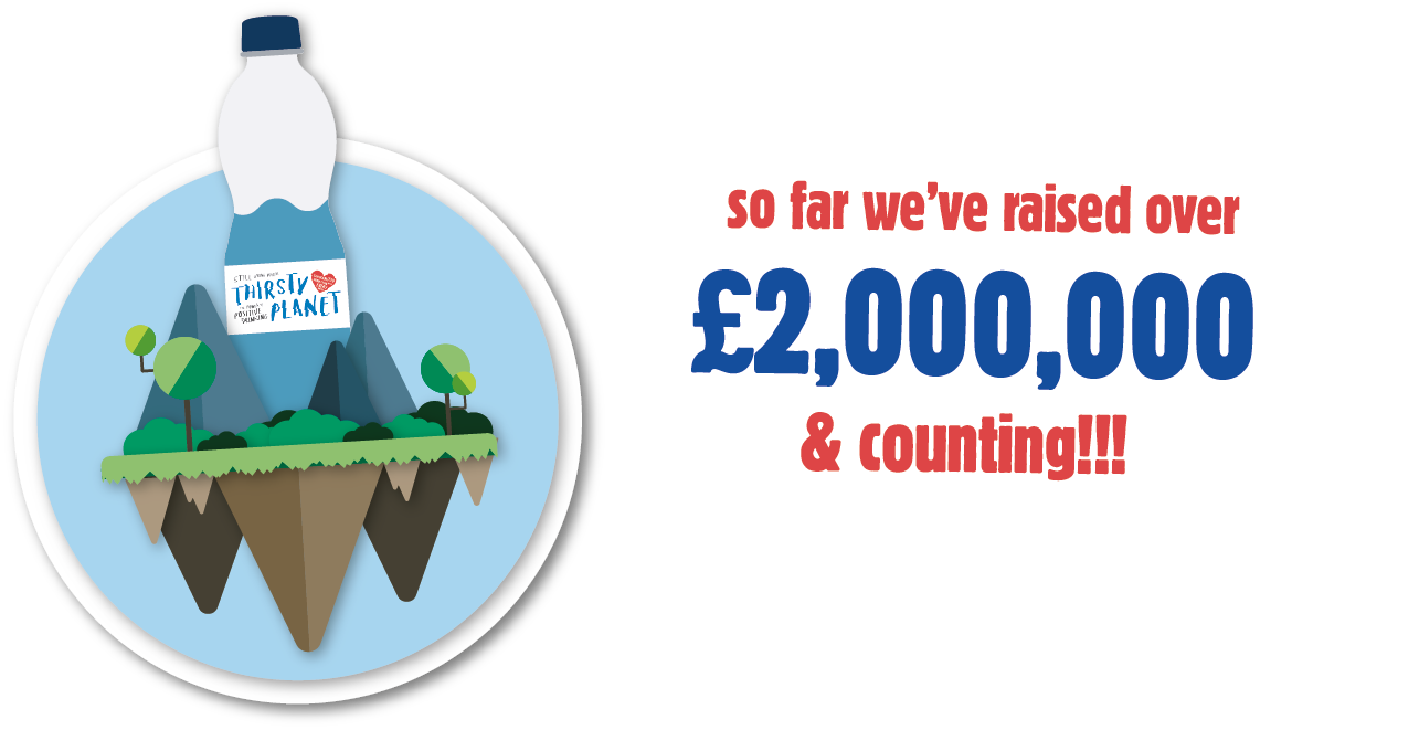 So far we've raised over £2,000,000 and counting