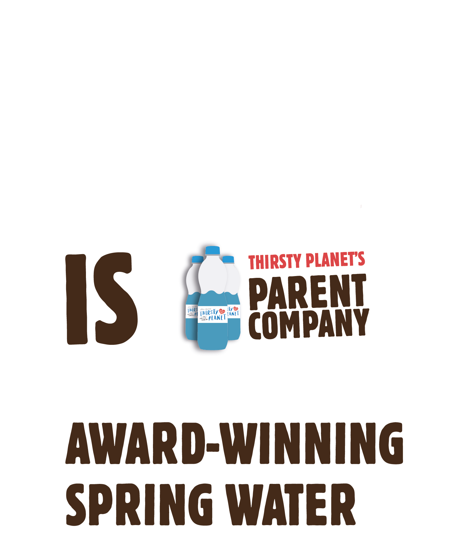 Harrogate Spring Water is Thirsty Planet's parent company. Award-winning spring water.